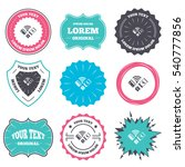 label and badge templates.... | Shutterstock .eps vector #540777856