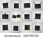 set of square vector photo... | Shutterstock .eps vector #540790702
