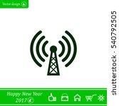 wi fi icon | Shutterstock .eps vector #540792505
