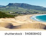 Dune of Bolonia beach, Tarifa, Spain.
