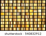 gold gradient background vector ... | Shutterstock .eps vector #540832912