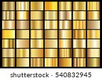 gold gradient background vector ... | Shutterstock .eps vector #540832945