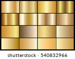 gold gradient background vector ... | Shutterstock .eps vector #540832966