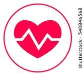 heart medical icon | Shutterstock .eps vector #540846568