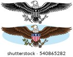 american bald eagle graphic icon | Shutterstock .eps vector #540865282