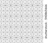 seamless modern geometric... | Shutterstock .eps vector #540865666