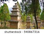 Forest Pagoda In Shaolin Templ...