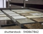stone countertop sample colors... | Shutterstock . vector #540867862