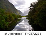 milford track | Shutterstock . vector #540872236