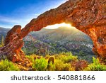 Elephant Arch In Sonoran Deser...