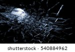 abstract dark digital... | Shutterstock . vector #540884962