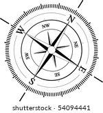 compass | Shutterstock .eps vector #54094441