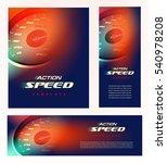 speedometer cover design. car... | Shutterstock .eps vector #540978208