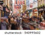 london  england   december 17 ... | Shutterstock . vector #540995602