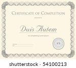 bond certificate template