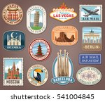collection of vector... | Shutterstock .eps vector #541004845
