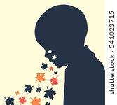 abstract illustration of... | Shutterstock .eps vector #541023715