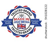 made in great britain  trusted... | Shutterstock .eps vector #541028122