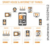 smart house and internet of... | Shutterstock .eps vector #541029412