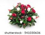 Green Funeral Fir Wreath With...