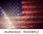 american flag   designed blur... | Shutterstock . vector #541038412
