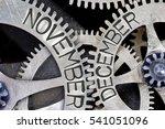 macro photo of tooth wheel... | Shutterstock . vector #541051096