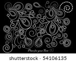 nice dark background of the... | Shutterstock .eps vector #54106135