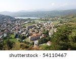 a panoramic view of avigliana ... | Shutterstock . vector #54110467