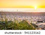 Glenelg Beach At Sunset ...