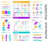big modern infographics... | Shutterstock .eps vector #541123696