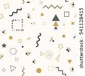 trendy geometric elements... | Shutterstock . vector #541128415