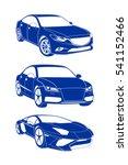 models of cars   Shutterstock .eps vector #541152466