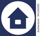 home icon vector flat design...