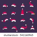 Santa Hat Vector Symbol...