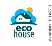 vector logo house | Shutterstock .eps vector #541167748