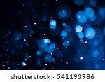 bokeh on black background | Shutterstock . vector #541193986