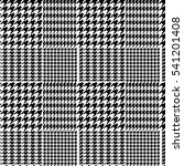 houndstooth geometric plaid... | Shutterstock .eps vector #541201408