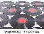 vinyl records as background | Shutterstock . vector #541204102
