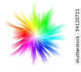 rainbow whirl | Shutterstock . vector #54120721