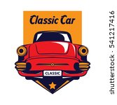 classic car logo   Shutterstock .eps vector #541217416