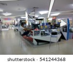 blur image of inside malaysian... | Shutterstock . vector #541244368