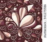 vector seamless abstract...   Shutterstock .eps vector #541275586