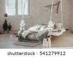 the bed suspended from the... | Shutterstock . vector #541279912