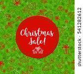 merry christmas. hand drawn...   Shutterstock . vector #541282612