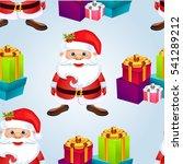 christmas poster .seamless... | Shutterstock .eps vector #541289212