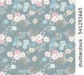 simple cute pattern in small... | Shutterstock . vector #541292665