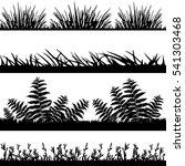 vector illustration. grass... | Shutterstock .eps vector #541303468