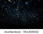 dust bokeh  | Shutterstock . vector #541304032