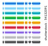 web buttons collection in web 2....   Shutterstock .eps vector #54132091