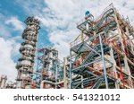 industrial zone the equipment... | Shutterstock . vector #541321012
